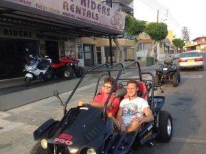 Joey Essex at Easy Riders Rentals, Ayia Napa Cyprus