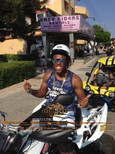 KSI at Easy Riders Rentals, Ayia Napa Cyprus