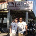 Dean Gaffney at Easy Riders Rentals, Ayia Napa Cyprus