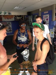 KSI & Friends at Easy Riders Rentals, Ayia Napa Cyprus