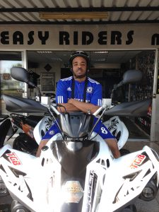 Shorty-BBK at Easy Riders Rentals, Ayia Napa Cyprus