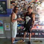 Wiley & Marcus Nasty at Easy Riders Rentals, Ayia Napa Cyprus