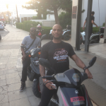 Marcus Nasty at Easy Riders Rentals, Ayia Napa Cyprus