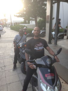 Marcus Nasty at Easy Riders Rentals, Ayia Napa Cyprus