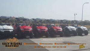 Easy Riders Rentals shop and vehicles Ayia Napa