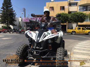 Tempa T at Easy Riders Rentals, Ayia Napa, Cyprus