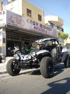 Easy Riders Rentals, Ayia Napa. Buggies, Quad Bikes & Scooters  for hire.Customer Photos