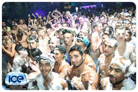 Foam Party @ Club Ice