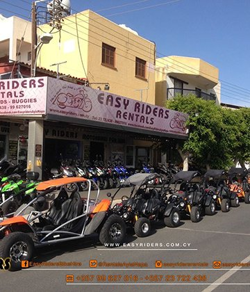 Quad Bikes and Baggies For Rent in Ayia Napa