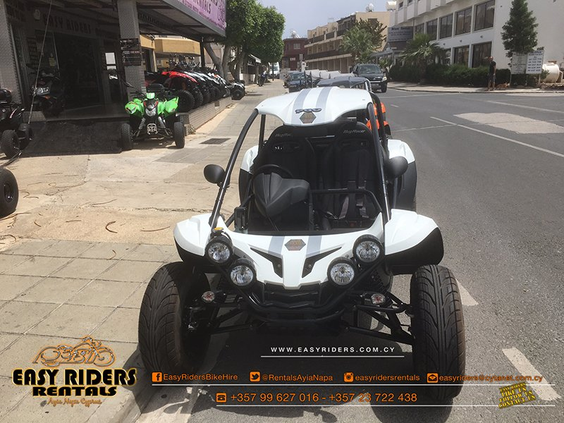PGO BUGGY 600cc For Rent in Ayia Napa