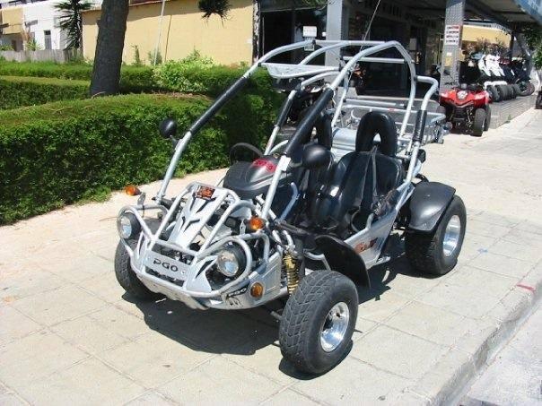 PGO BUGGIES 250cc For Rent in Ayia Napa
