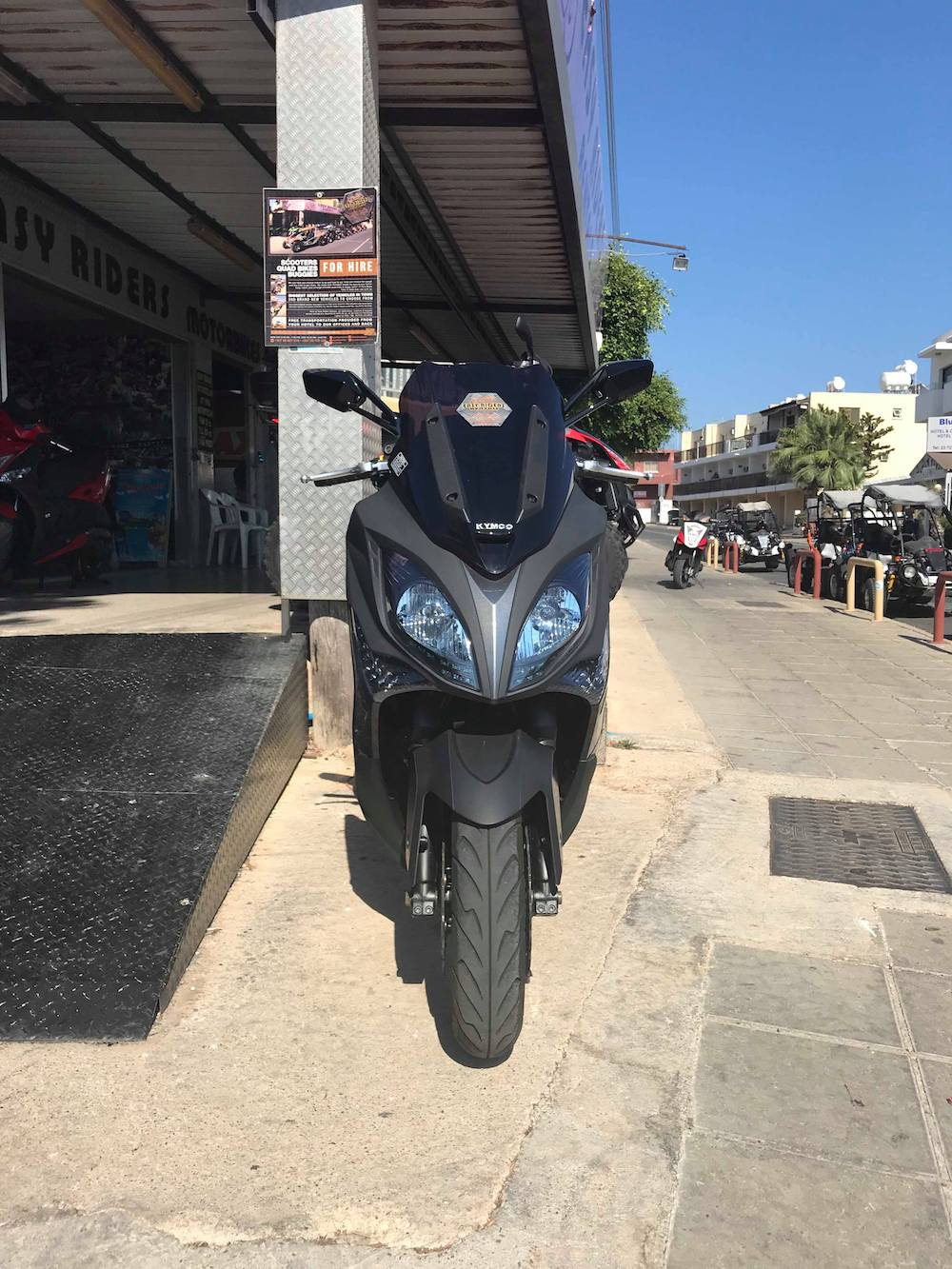 KYMCO SCOOTER XCITING 400i ABS 400cc For Rent in Ayia Napa