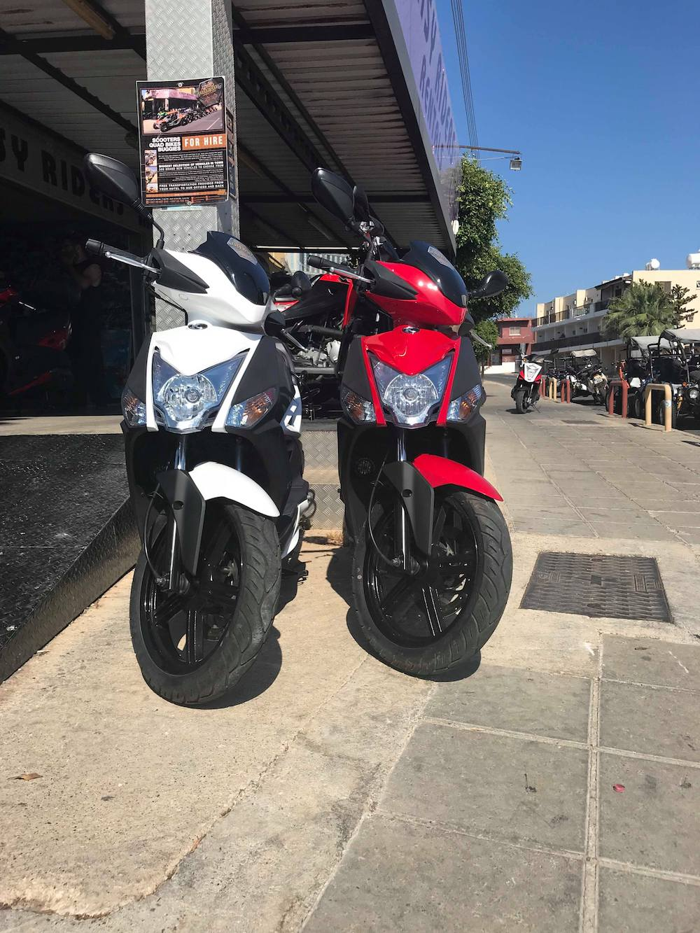 Kymco 80cc For Rent in Ayia Napa