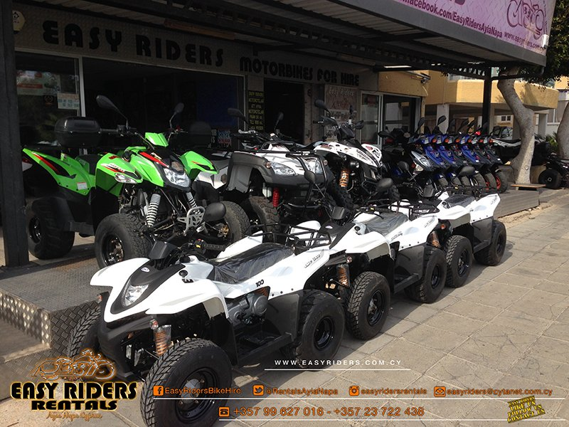 SMC 100cc For Rent in Ayia Napa