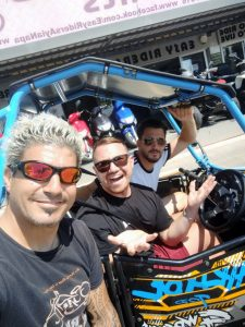 Cypriot Smurf at Easy Riders Rentals