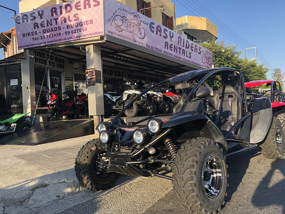 rent a buggy in ayia napa