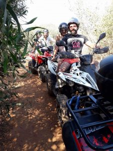 Group Extreme Quad Bike Safari