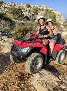 Couple Quad Bike Adventures