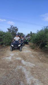 Off road quad bike safari