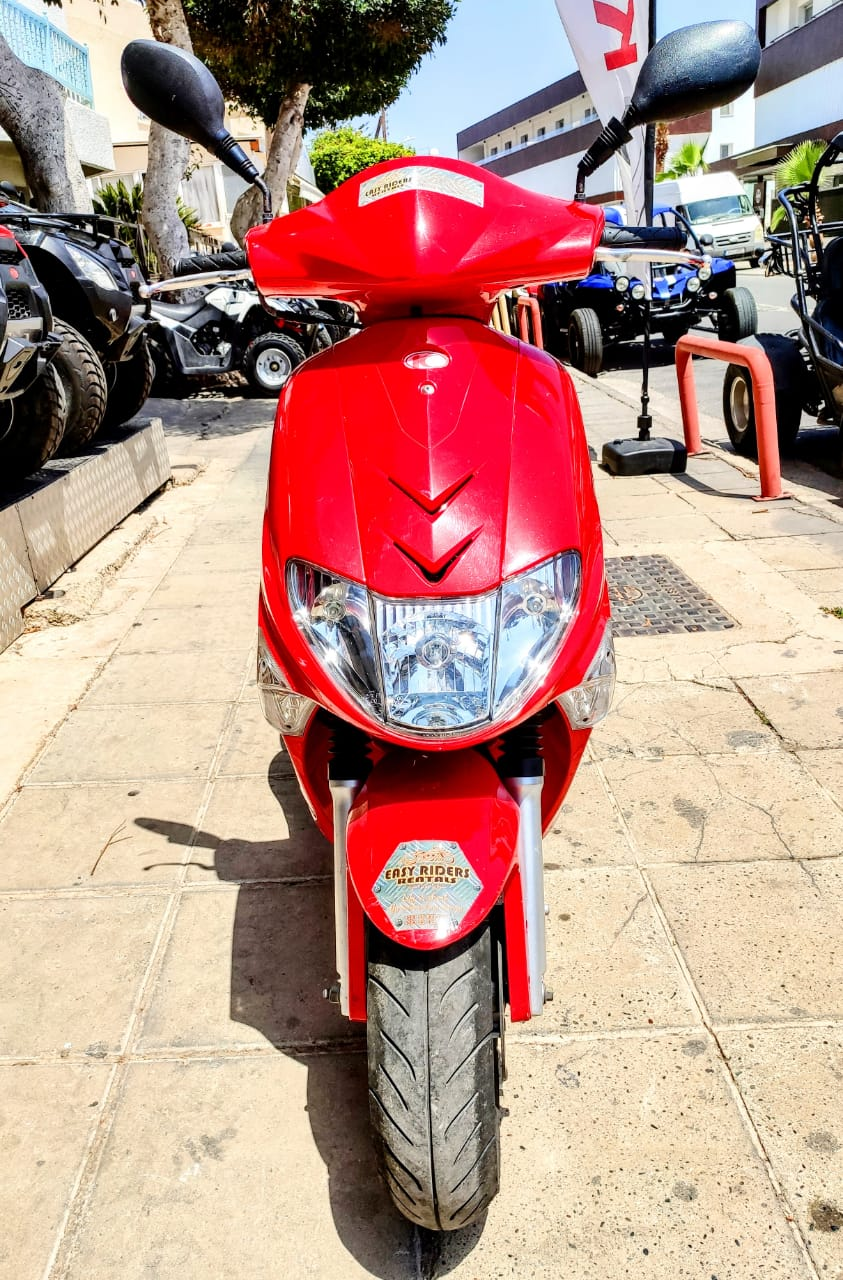 KYMCO Vitality 80cc for Rent in Ayia Napa